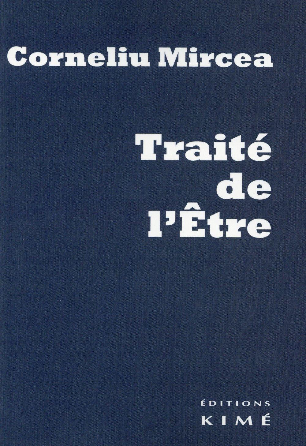 TRAITE DE L'ETRE