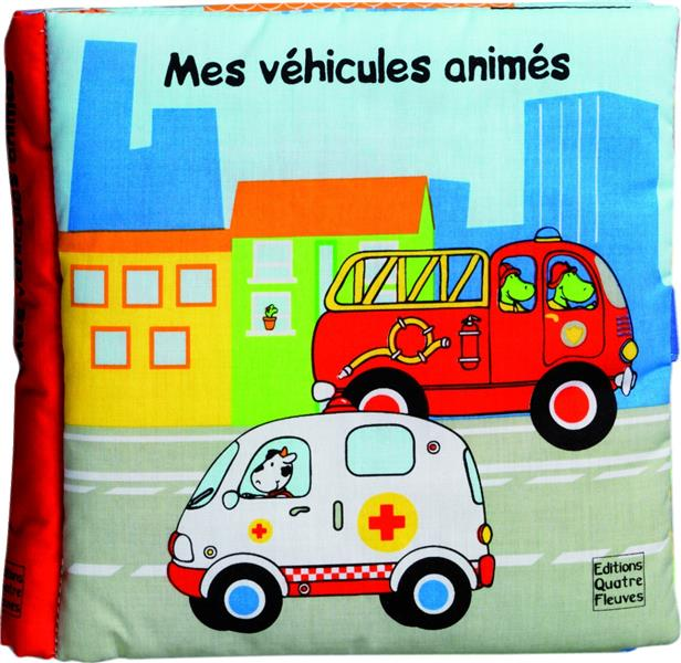 GRANDS LIVRES AVEC ANIMATIONS - MES VEHICULES ANIMES