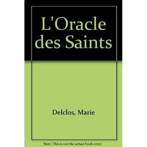 ORACLE DES SAINTS (LIVRE)