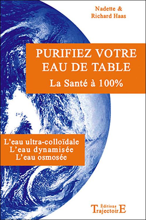 PURIFIEZ VOTRE EAU DE TABLE