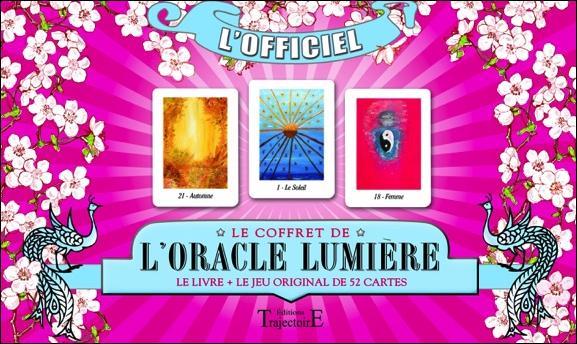 LE COFFRET DE L'ORACLE LUMIERE - LIVRE + JEU