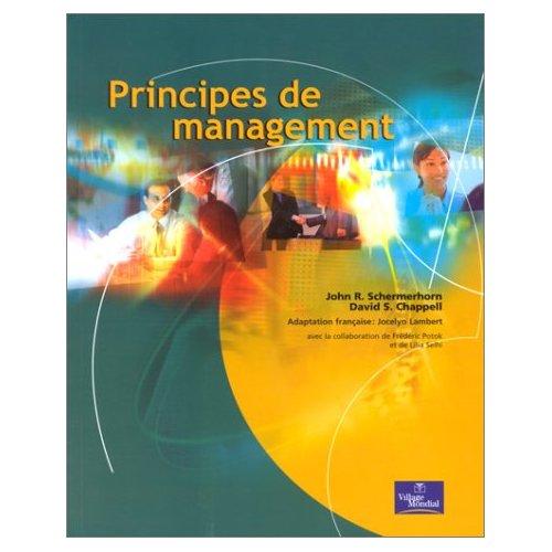 PRINCIPES DE MANAGEMENT