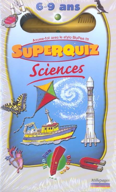 COFFRET SCIENCES SUPERQUIZ 6/9 ANS
