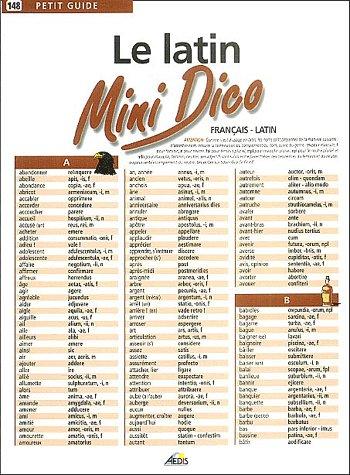 MINI DICO FRANCAIS/LATIN