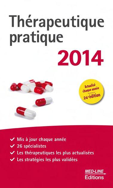 THERAPEUTIQUE PRATIQUE 2014