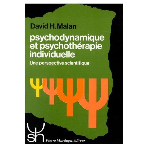 PSYCHODYNAMIQUE ET PSYCHOTHERAPIE INDIVIDUELLE 104