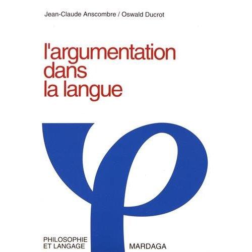 ARGUMENTATION DANS LA LANGUE 3EME EDITION
