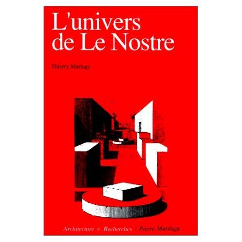 UNIVERS DE LE NOSTRE (L')