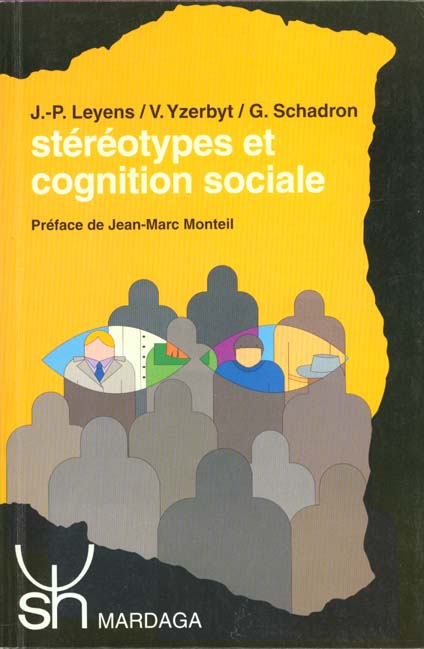 STEREOTYPES ET COGNITION SOCIALE
