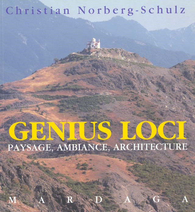 GENIUS LOCI 3EME EDITION