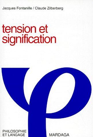 TENSION ET SIGNIFICATION