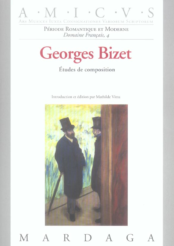GEORGES BIZET ETUDES DE COMPOSITION
