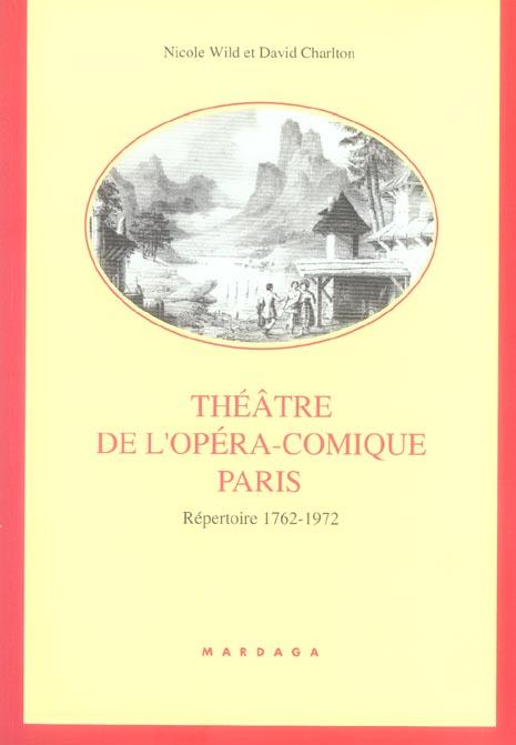 THEATRE DE L'OPERA COMIQUE PARIS