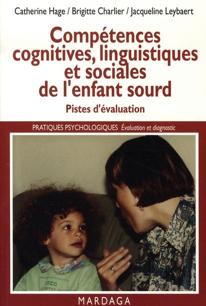 COMPETENCES COGNITIVES,LINGUISTIQUES ET SOCIALES DE L'ENFANT