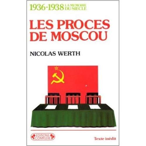 1936 1938 PROCES DE MOSCOU  20436