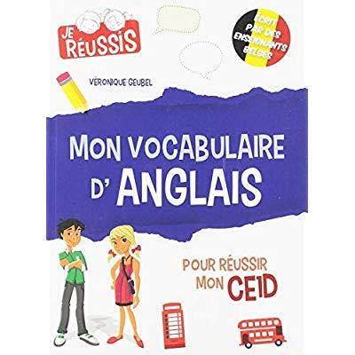 MON VOCABULAIRE D'ANGLAIS POUR REUSSIR MON CE1D