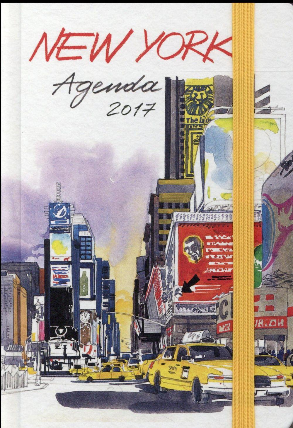 AGENDA NEW YORK 2017 (PETIT FORMAT)