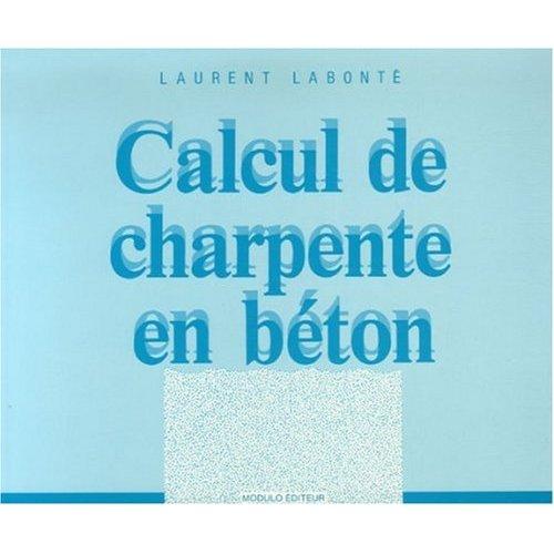 CALCUL DE CHARPENTE EN BETON
