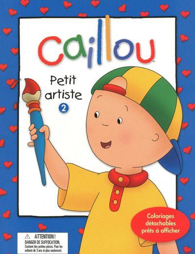 CAILLOU PETIT ARTISTE 2 - VOL02