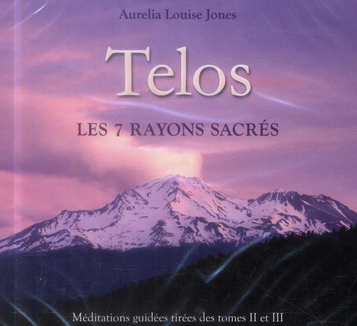 TELOS - LES 7 RAYONS SACRES - LIVRE AUDIO 2 CD