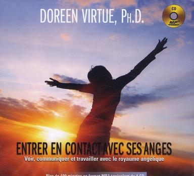 ENTRER EN CONTACT AVEC SES ANGES - LIVRE AUDIO 1 CD MP3