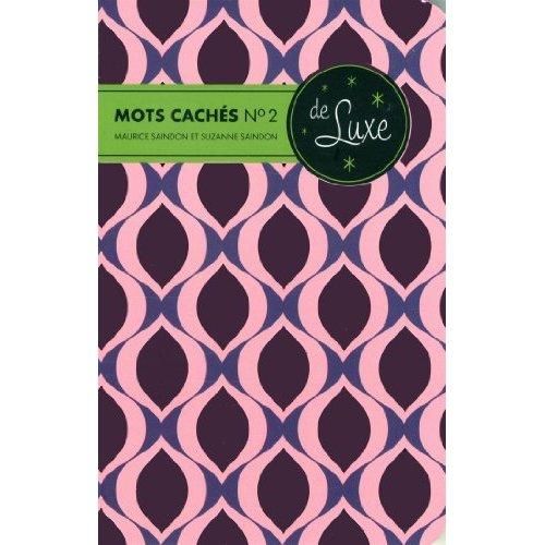 MOTS CACHES 2 DE LUXE