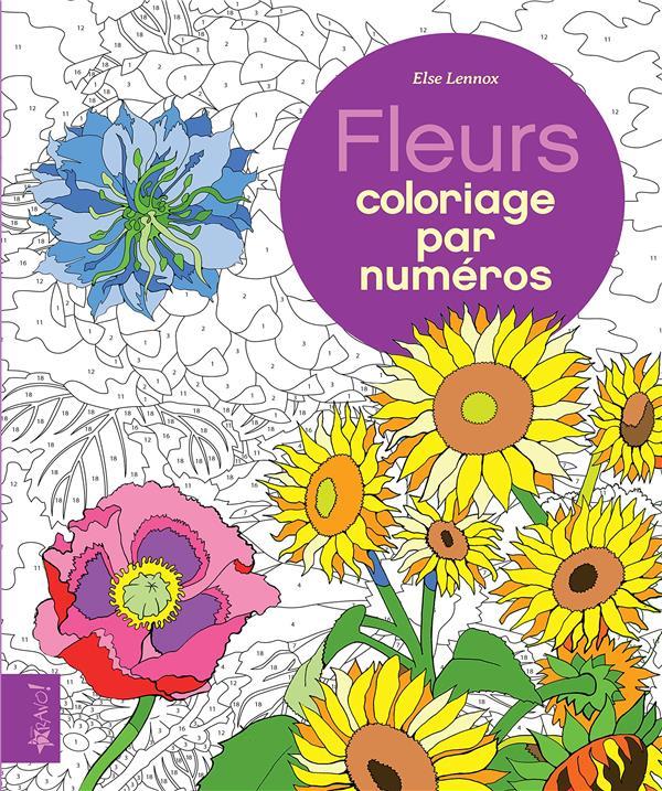FLEURS - COLORIAGE PAR NUMEROS