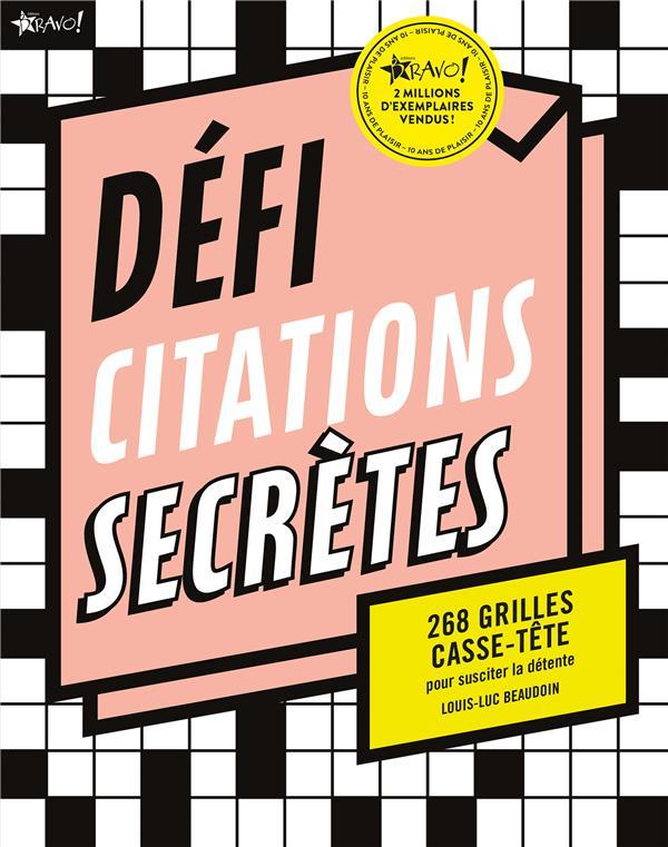 DEFI CITATIONS SECRETES