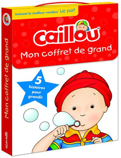 CAILLOU MON COFFRET DE GRAND