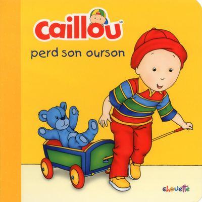 CAILLOU PERD SON OURSON