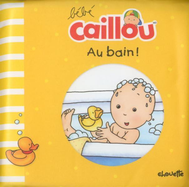 BEBE CAILLOU AU BAIN