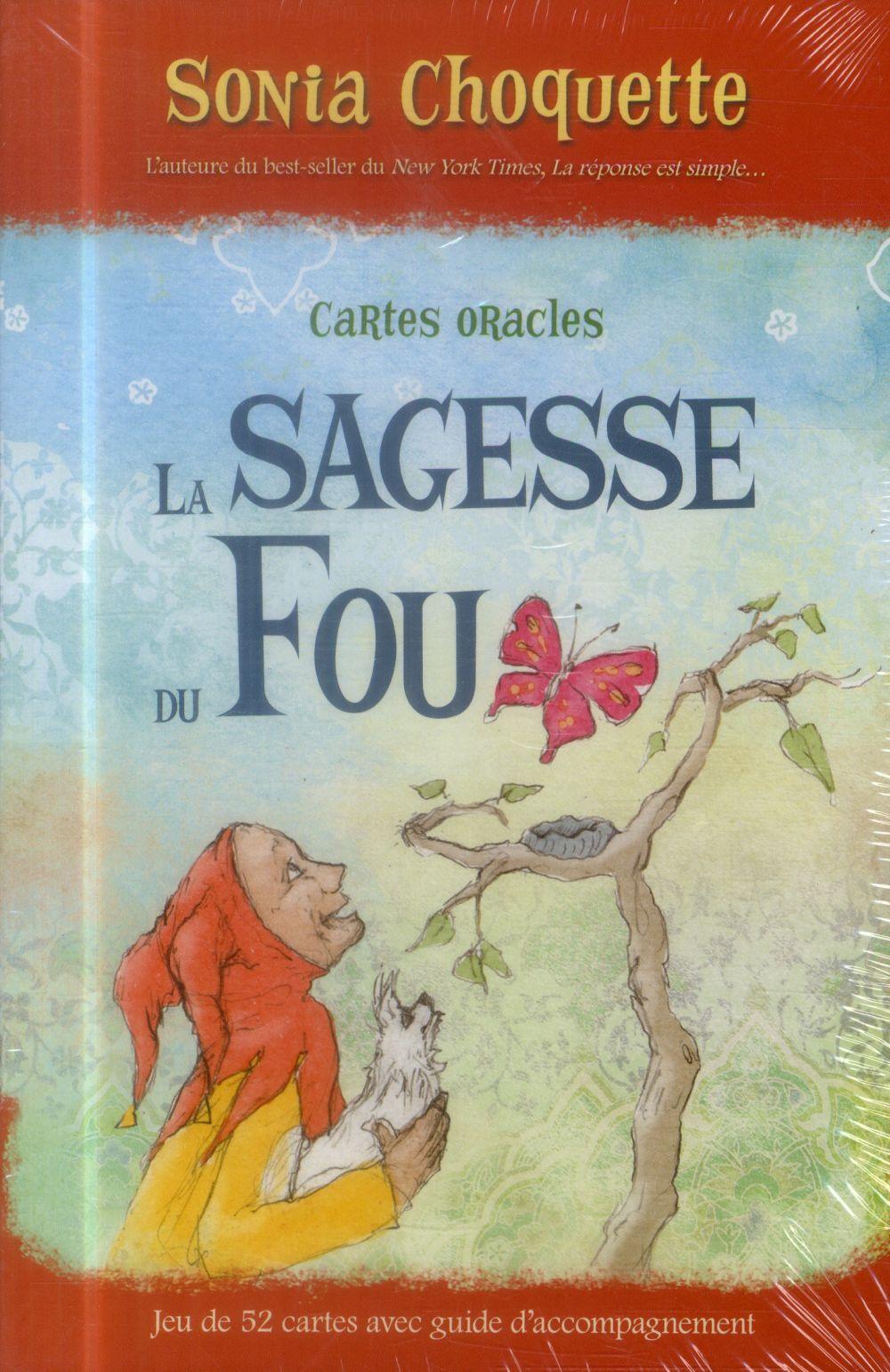 ORACLE LA SAGESSE DU FOU - COFFRET