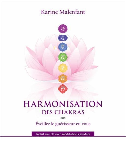 HARMONISATION DES CHAKRAS - LIVRE + CD