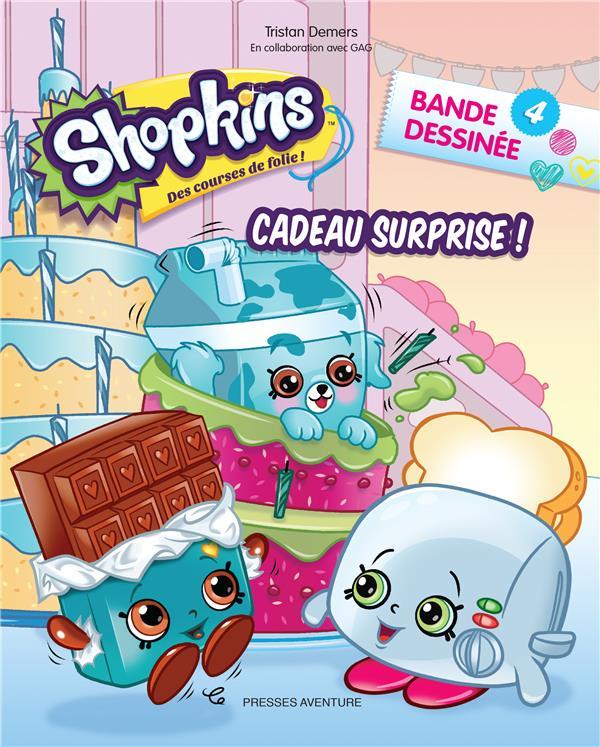 T4 - SHOPKINS BD 4-CADEAU SURPRISE !