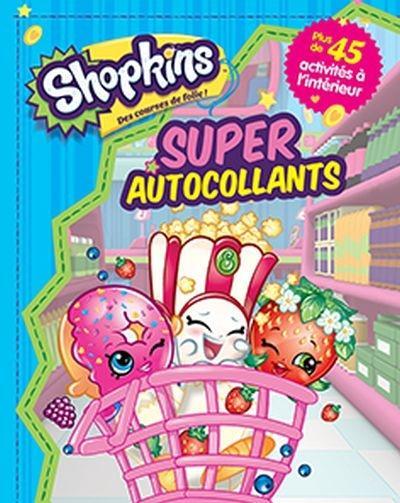 SUPER AUTOCOLLANTS SHOPKINS