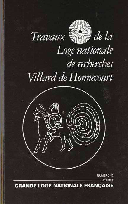 VILLARD DE HONNECOURT N  42 - CONNAISSANCE VERTICALE, CONNAISSANCE HORIZONTALE, LE CHEMINEMENT...