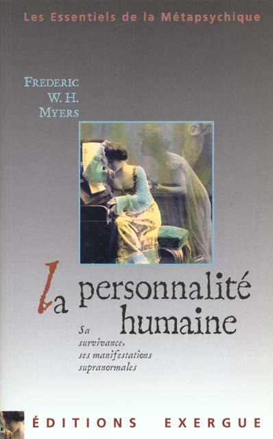 LA PERSONNALITE HUMAINE