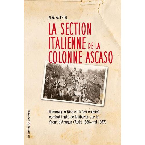 LA SECTION ITALIENNE DE LA COLONNE ASCASO