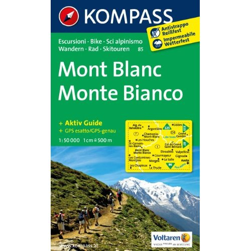 AED MONT BLANC 85  1/50.000