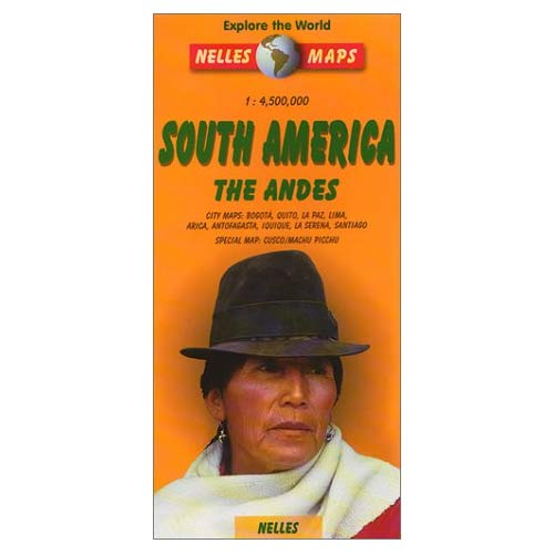 AMERIQUE DU SUD/LES ANDES - 1/4,5M