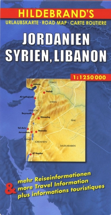 JORDANIEN - SYRIEN - LIBANON