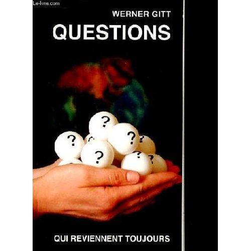 QUESTIONS QUI REVIENNENT TOUJOURS (NVELLE ED.)