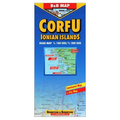 CORFOU/ILES IONIENNE - 1/100.000-1/200.000