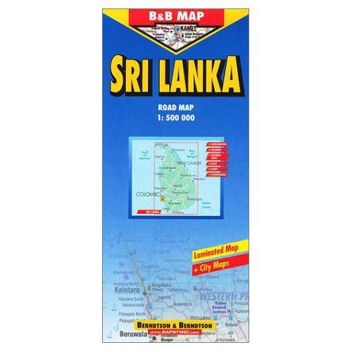 SRI LANKA - 1/500.000