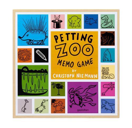 CHRISTOPH NIEMANN PETTING ZOO MEMO GAME /ANGLAIS
