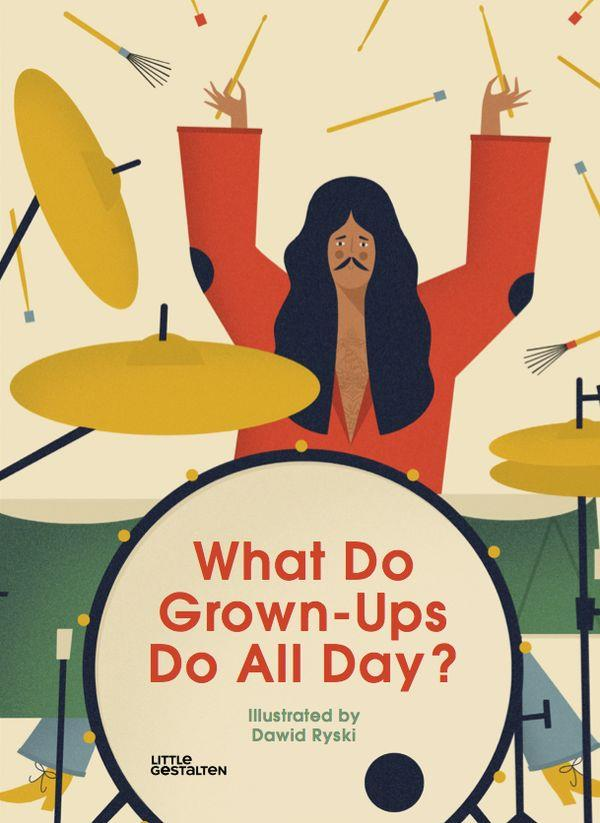 WHAT DO GROWN UPS DO ALL DAY ? /FRANCAIS