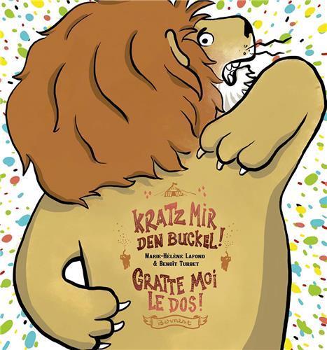 KRATZ MIR DEN BUCKEL / GRATTE-MOI LE DOS! - ALBUM BILINGUE FRANCAIS-ALLEMAND