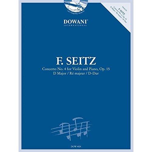 CONCERTO NO. 4 FOR VIOLIN AND PIANO, OP. 15 VIOLON +CD