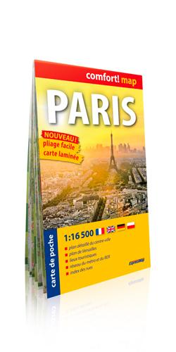 PARIS 1/16 500  (COMFORT !MAP, POCHE)
