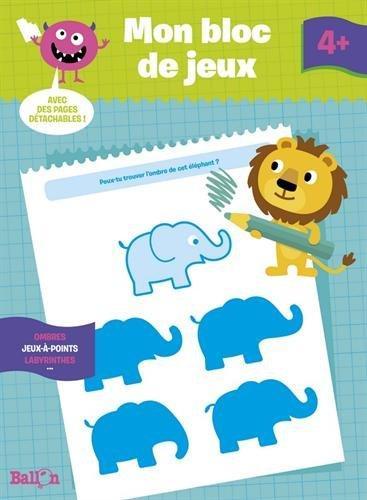 MON BLOC DE JEUX - DES 4 ANS